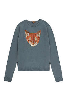 I LOVE GORGEOUS Sequinned fox jumper 2-12 years