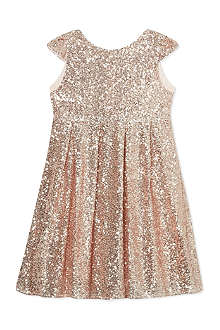 I LOVE GORGEOUS Moon festival sequin dress 2-12 years
