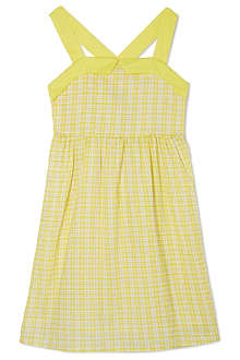 I LOVE GORGEOUS Wide strap checked dress 2-12 years