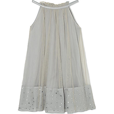 I LOVE GORGEOUS Sunlight sequin-skirt dress 2-12 years (Grey