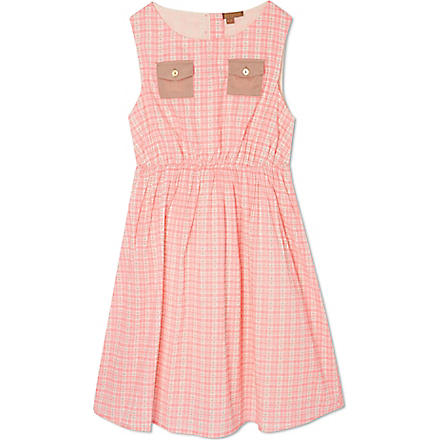 I LOVE GORGEOUS Beach Button dress 2-12 years (Pink