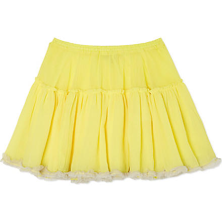 I LOVE GORGEOUS Kick The Can tutu skirt 2-13 years (Yellow