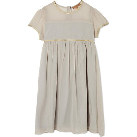 I LOVE GORGEOUS Gangees cap sleeve dress 2-12 years (Grey