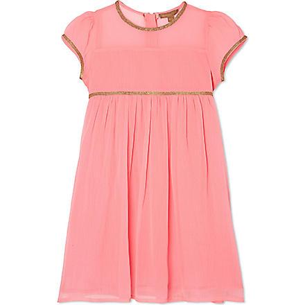 I LOVE GORGEOUS Gangees cap sleeve dress 2-12 years (Pink