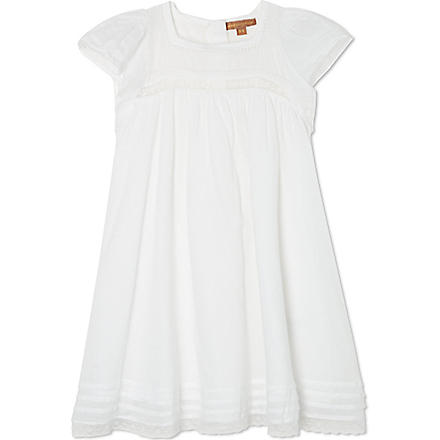 I LOVE GORGEOUS Angel lacy dress 2-12 years (White