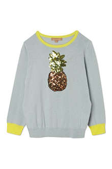 I LOVE GORGEOUS Pineapple sequin jumper 2-12 years