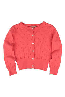 I LOVE GORGEOUS Pointelle cardigan 2-9 months