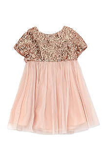 I LOVE GORGEOUS Sequin-panel dress 2-12 years