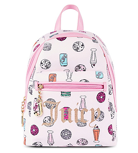 JUICY COUTURE Treats printed backpack (Juicy treats
