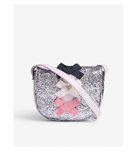 JUICY COUTURE Glitter bow crossbody bag (Bow+multi