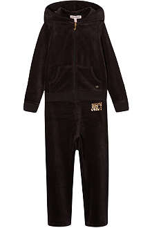 JUICY COUTURE Branded velour tracksuit 2-6 years