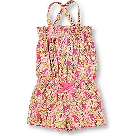 JUICY COUTURE Printed playsuit 2-6 years (Pink