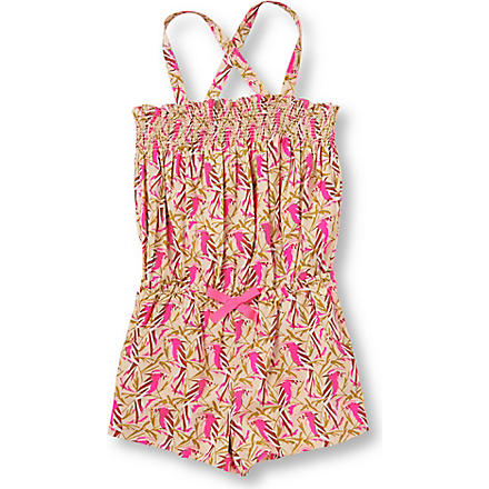 JUICY COUTURE Printed playsuit 7-14 years (Pink