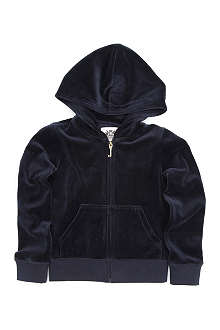 JUICY COUTURE Sparkle velour hoody 4-14 years