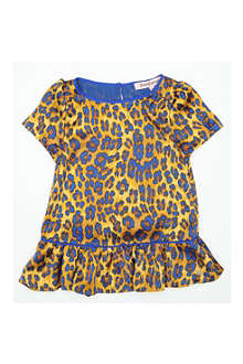 JUICY COUTURE Animal-print dress 2-14 years