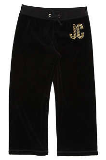 JUICY COUTURE Sparkle logo jogging bottoms 2-14 years