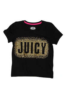 JUICY COUTURE Sparkle logo t-shirt 2-14 years