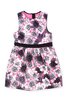 JUICY COUTURE Rose-print dress 2-14 years