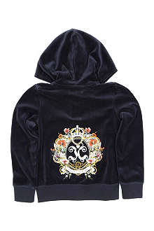 JUICY COUTURE Royal velour hoody 2-14 years