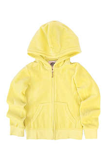 JUICY COUTURE Crest velour hoody S-XL