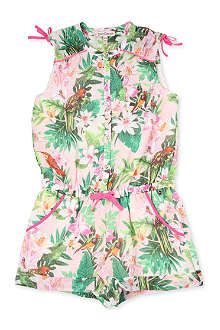 JUICY COUTURE Birds of Paradise playsuit 2-14 years