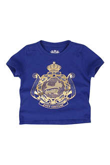 JUICY COUTURE Crest t-shirt XS