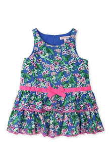 JUICY COUTURE Floral ruffle dress 2-7 years
