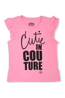 JUICY COUTURE 'Cutie in couture' t-shirt XS-XL