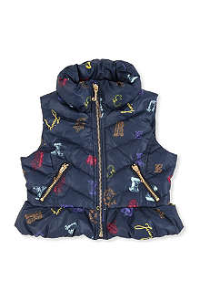 JUICY COUTURE Monarch padded vest XS-XL