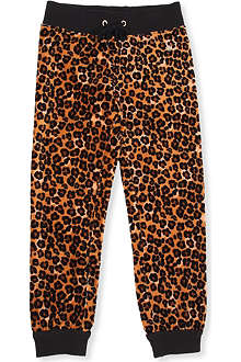 JUICY COUTURE Leopard-print velour trousers XS-XL
