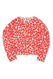JUICY COUTURE Hearts cardigan