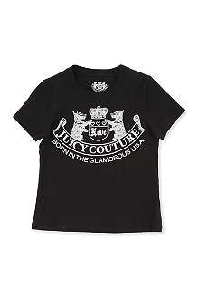 JUICY COUTURE Scottie dog logo t-shirt S-L