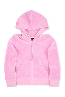 JUICY COUTURE Bow crest velour hoody XS-XL