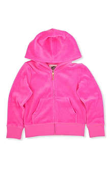 JUICY COUTURE Heraldic velour hoody XS-XL