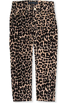 JUICY COUTURE Leopard-print skinny jeans 2-14 years