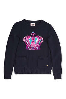 JUICY COUTURE Knitted crown jumper XS-XL