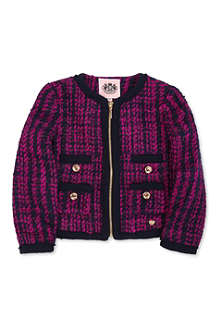 JUICY COUTURE Tweed jacket 2-14 years