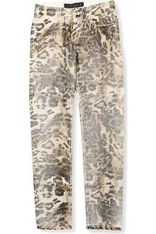 JUICY COUTURE Leopard skinny jeans 7-14 years