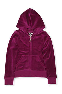 JUICY COUTURE Sequin juicy velour hoody S-XL