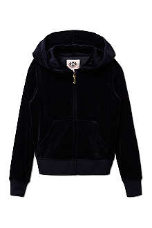 JUICY COUTURE Cameo velour hoodie XS-XL