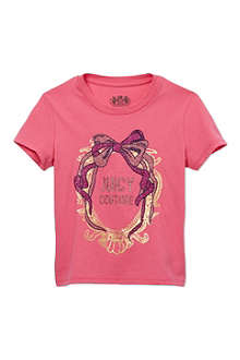 JUICY COUTURE Bow Cameo t-shirt XS-XL