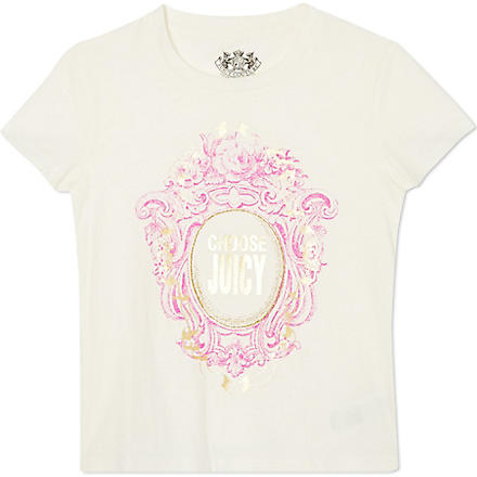 JUICY COUTURE Choose cameo t-shirt XS-XL (Cream