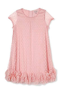 JUICY COUTURE Dotted frilled tulle dress 2-14 years