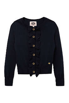 JUICY COUTURE Ruffle cardigan 2-14 years