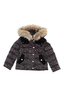JUICY COUTURE Leopard print quilted jacket XS-XL