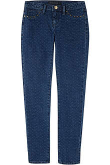 JUICY COUTURE Polka dot skinny jeans 7-14 years