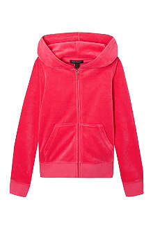 JUICY COUTURE Logo hooded track top 7-14 years