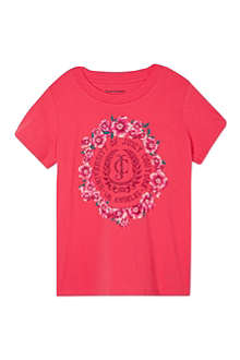 JUICY COUTURE Floral logo t-shirt 7-14 years