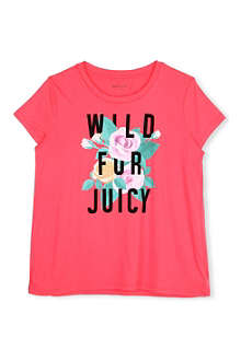JUICY COUTURE Wild for Juicy t-shirt 7-14 years