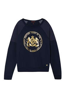 JUICY COUTURE Fashion crew neck sweater 7-14 years
